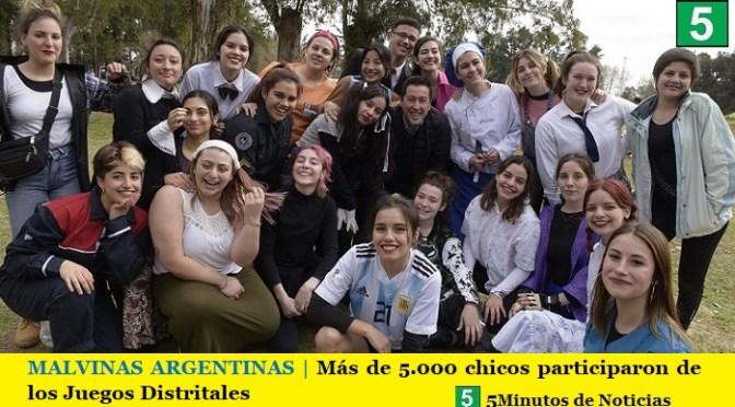 MALVINAS ARGENTINAS | Más de 5.000 chicos participaron de los Juegos Distritales