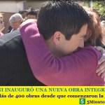 LEO NARDINI INAUGURÓ UNA NUEVA OBRA INTEGRAL EN VILLA DE MAYO | Más de 400 obras desde que comenzaron la gestión