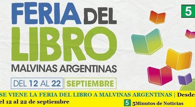 SE VIENE LA FERIA DEL LIBRO A MALVINAS ARGENTINAS | Desde el 12 al 22 de septiembre