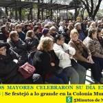 LOS ADULTOS MAYORES CELEBRARON SU DÍA EN MALVINAS ARGENTINAS | Se festejó a lo grande en la Colonia Municipal