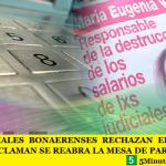 LOS JUDICIALES BONAERENSES RECHAZAN EL BONO DE VIDAL Y RECLAMAN SE REABRA LA MESA DE PARITARIAS
