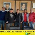 PABLO MOYANO RECIBIÓ AL FRENTE JUSTICIALISTA CRISTIANO