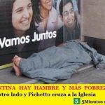 EN ARGENTINA HAY HAMBRE Y MÁS POBREZA | Macri mira para otro lado y Pichetto cruza a la Iglesia
