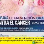 """""""YO CUIDO MI VIDA""""   Más de mil mujeres ya se realizaron los controles ginecológicos gratuitos en Malvinas Argentinas"""
