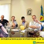 VEEDORES INTERNACIONALES SUPERVISAN LAS ELECCIONES EN MERLO
