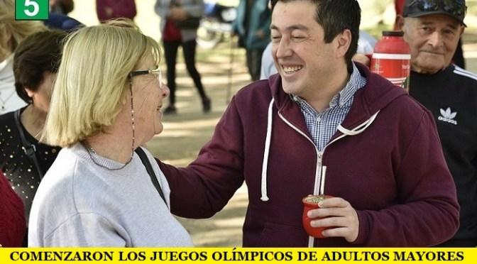 COMENZARON LOS JUEGOS OLÍMPICOS DE ADULTOS MAYORES EN MALVINAS ARGENTINAS