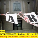 JUDICIALES BONAERENSES PARAN EL 5 DE DICIEMBRE | Reclaman Paritarias y denuncian la crisis del Poder Judicial PBA