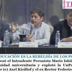 """""""LA EDUCACIÓN ES LA REBELDÍA DE LOS POBRES"""""""