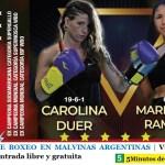SE VIENE UNA VELADA DE BOXEO EN MALVINAS ARGENTINAS   Viernes 29 a las 19 con entrada libre y gratuita
