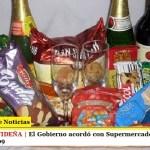 CANASTA NAVIDEÑA | El Gobierno acordó con Supermercados una Canasta Navideña a $199