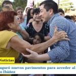 LEO NARDINI INAUGURÓ NUEVOS PAVIMENTOS QUE PERMITEN ACCEDER AL CENTRO DE SALUD TENIENTE PRIMERO IBÁÑEZ