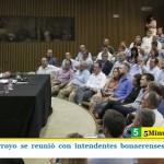 EL MINISTRO ARROYO SE REUNIÓ CON INTENDENTES BONAERENSES POR LA TARJETA ALIMENTAR