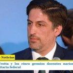 EL MINISTRO TROTTA Y LOS CINCO GREMIOS DOCENTES NACIONALES INAUGURAN MAÑANA LA PARITARIA FEDERAL