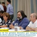 La mayoría de los gremios docentes que integran el FUDB aceptaron la oferta salarial del gobierno bonaerense