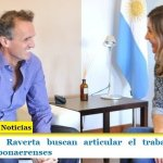 Katopodis y Raverta buscan articular el trabajo con los intendentes bonaerenses