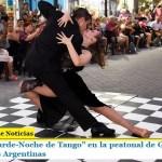 """Primera """"Tarde-Noche de Tango"""" en la peatonal de Grand Bourg en Malvinas Argentinas"""