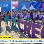 Augusto Costa cerró el programa ReCreo en Mar del Plata