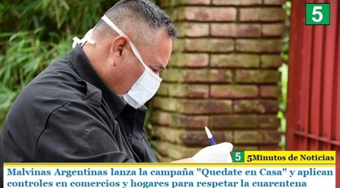 """Malvinas Argentinas lanzó la campaña """"Quedate en Casa"""" y aplican controles en comercios y hogares para respetar la cuarentena"""