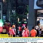 Golpeados por el fraude laboral los trabajadores nucleados en ASiMM ahora también expuestos a la pandemia por las App de delivery