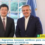 China dona a Argentina insumos médicos para colaborar en la respuesta sanitaria frente al COVID-19