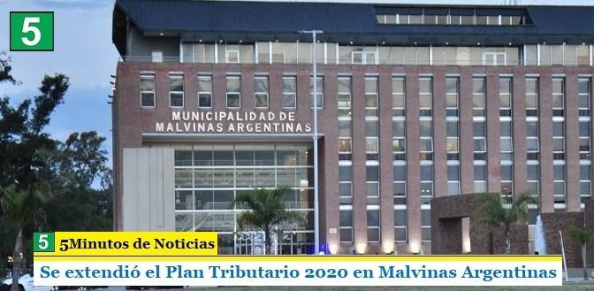 Se extendió el Plan Tributario 2020 en Malvinas Argentinas