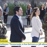 """Malvinas Argentinas: """"homenaje a los héroes a 38 años de la guerra"""""""
