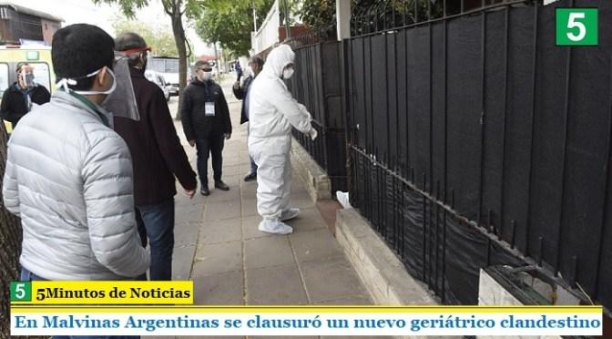 En Malvinas Argentinas se clausuró un nuevo geriátrico clandestino