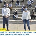 """La Municipalidad de Quilmes lanza """"Cuidarnos"""" un programa de información sobre prevención del coronavirus"""