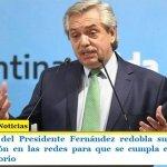 El Gobierno del Presidente Fernández redobla su campaña de concientización en las redes para que se cumpla el aislamiento social obligatorio