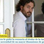 Santiago Cafiero le pidió la renuncia al titular de la Anses Alejandro Vanoli ante la necesidad de un mayor dinamismo de gestión
