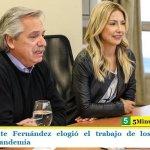 El Presidente Fernández elogió el trabajo de los comedores durante la pandemia