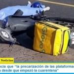 """ASiMM denuncia que """"la precarización de las plataformas se cobró su cuarta víctima desde que empezó la cuarentena"""""""