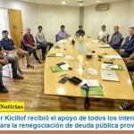 El Gobernador Kicillof recibió el apoyo de todos los intendentes y el PJ bonaerense para la renegociación de deuda pública provincial
