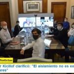 El Gobernador Kicillof clarificó: «El aislamiento no es exclusivo de los barrios populares»