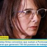 La ministra Bielsa firmó convenios que suman a Formosa y Misiones al programa federal que generará 750 mil puestos de trabajo