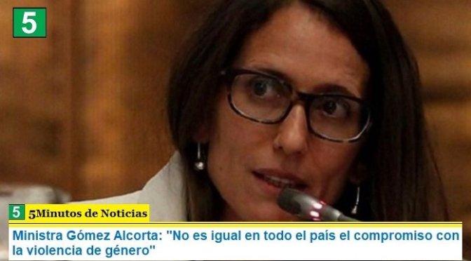 """Ministra Gómez Alcorta: """"No es igual en todo el país el compromiso con la violencia de género"""""""