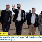 """El ministro Katopodis aseguró que """"el Gobierno busca reactivar toda la obra pública del país"""""""