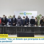 Gobernador Kicillof: «Hay un Estado que jerarquiza la educación como un pilar en esta pandemia»