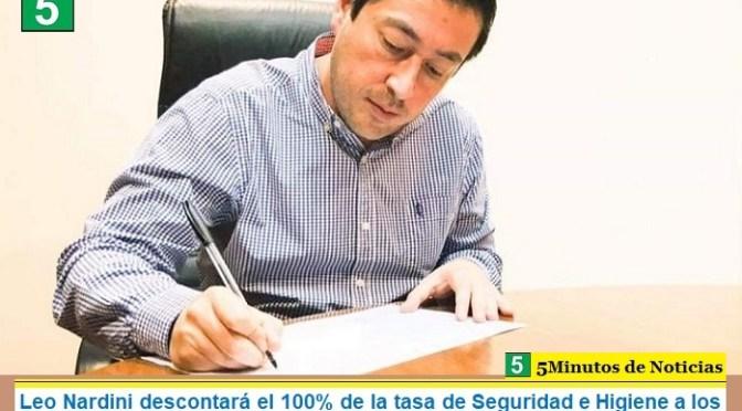 Leo Nardini brinda un fuerte alivio a los comerciantes de Malvinas Argentinas: descontará el 100% de la tasa de Seguridad e Higiene