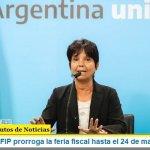 La AFIP prorroga la feria fiscal hasta el 24 de mayo