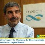 El ministro Salvarezza y la Cámara de Biotecnología analizaron la situación del sector en la pandemia