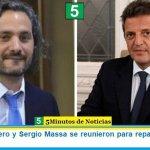 Santiago Cafiero y Sergio Massa se reunieron para repasar la agenda legislativa