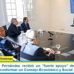 """El presidente Fernández recibió un """"fuerte apoyo"""" de la ONU a su propuesta de conformar un Consejo Económico y Social"""