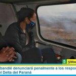El ministro Cabandié denunciará penalmente a los responsables de los incendios en el Delta del Paraná
