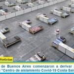 """En la Ciudad de Buenos Aires comenzaron a derivar pacientes con coronavirus al """"Centro de aislamiento Covid-19 Costa Salguero"""""""