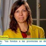 """Silvina Batakis: """"los fondos a las provincias se distribuyen """"sin discriminación"""""""
