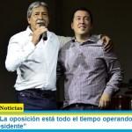 """Leo Nardini: """"La oposición está todo el tiempo operando y tratando de debilitar al Presidente"""""""