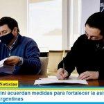 Arroyo y Nardini acuerdan medidas para fortalecer la asistencia social en Malvinas Argentinas
