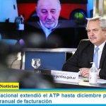 El Gobierno Nacional extendió el ATP hasta diciembre para empresas con caída interanual de facturación