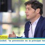 """Gobernador Kicillof: """"la prevención es la principal herramienta que tenemos"""""""